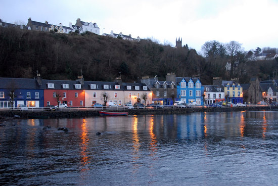 feb dusk in Tobermory