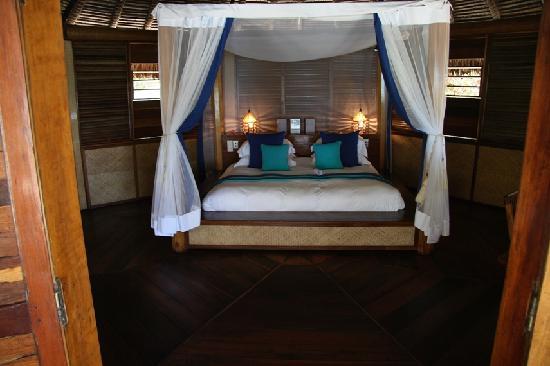 Nosy Iranja, Madagascar: il letto