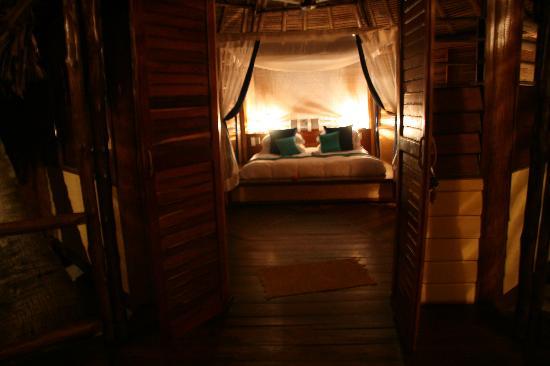 Nosy Iranja, Madagaskar: il letto