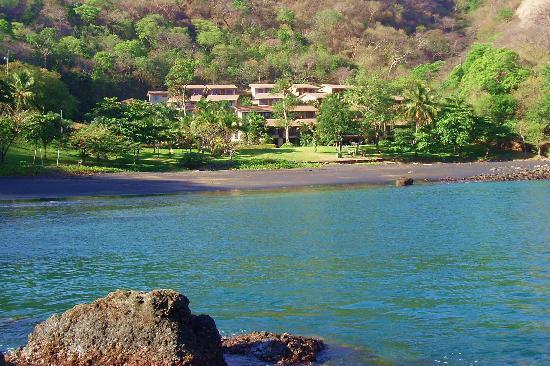 Bahia Pez Vela Resort: The villas at low tide