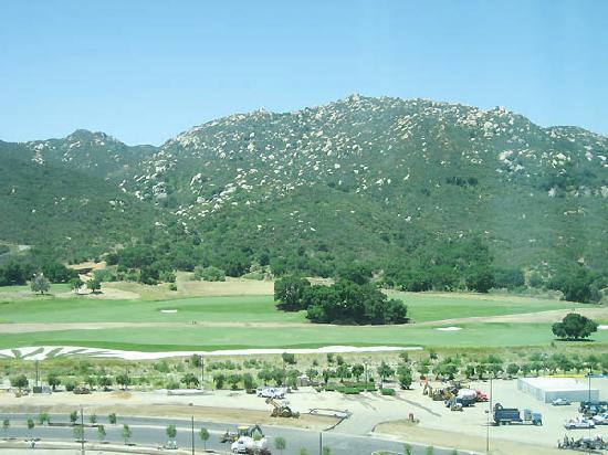 Pechanga Resort and Casino: my lovely view of rocks