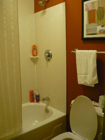 Red Roof Inn Cincinnati - Sharonville: The bathroom