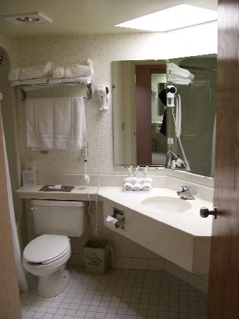 Holiday Inn Express Janesville - I-90 and US Highway 14: A view of the large bathroom