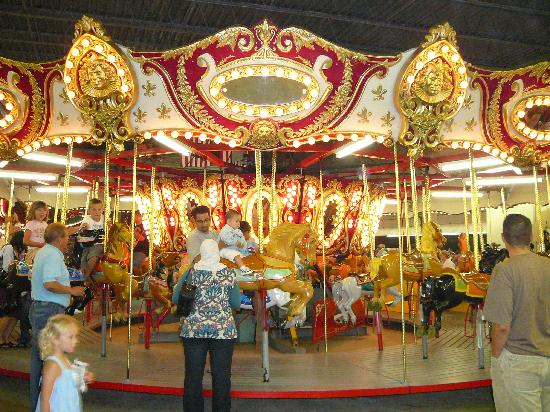 Carousel at Funland