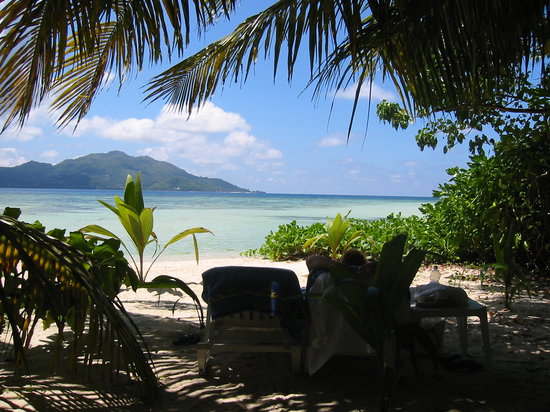 Sainte Anne Island, Seychellerne: very private beach setting