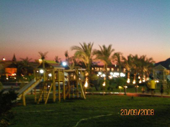 Aqua Blu Sharm: le soir