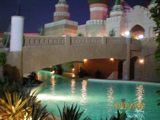 Aqua Blu Sharm: entré de l aqua park pas l hotel