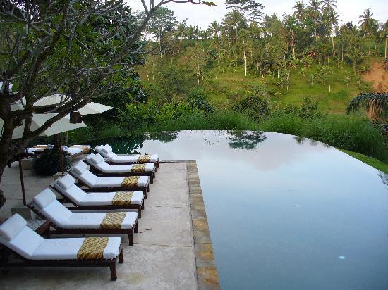 Komaneka at Tanggayuda: La piscine principale