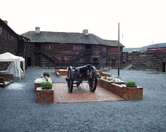 Inside Fort William Henry