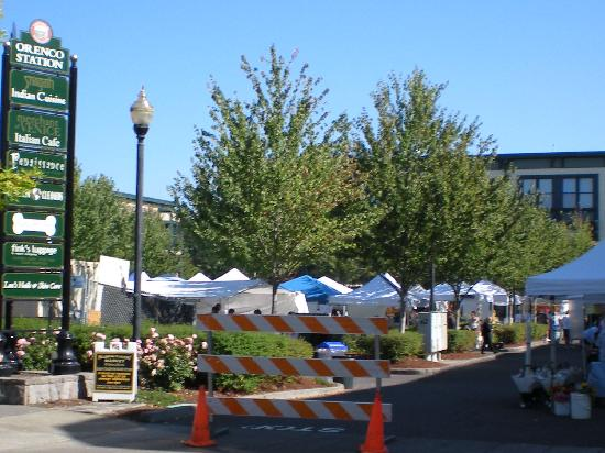 The Orenco: Sunday Market around the corner