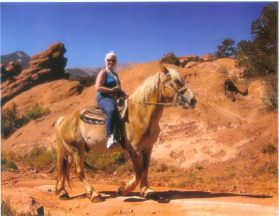 Academy Riding Stables: Me on Hercules