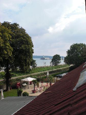 Hotel Seegarten: Blick aus dem Fenster