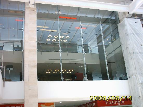 Trinitarias Suites (vista desde el Mall)