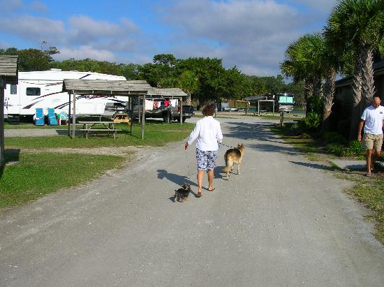 Campground At Myrtle Beach South Carolina
