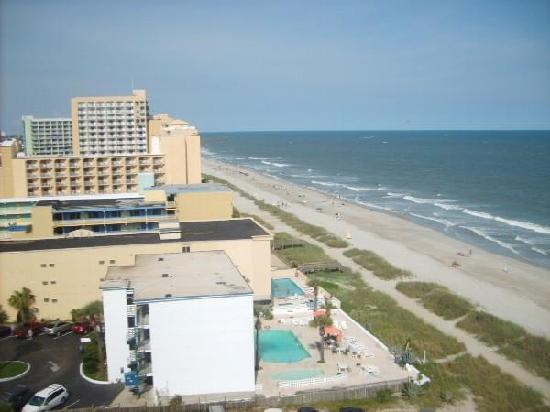 Side View Picture of Landmark Resort Myrtle Beach