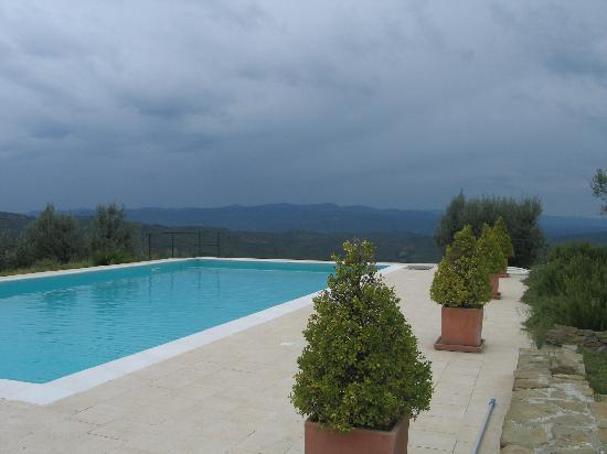 Civitella in Val di Chiana, Italy: The infinity pool