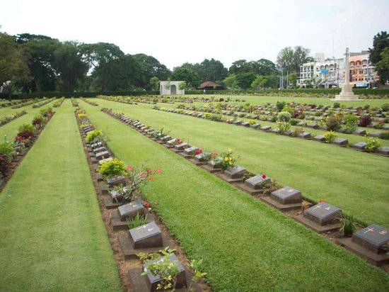 Cimetière militaire de Kanchanaburi
