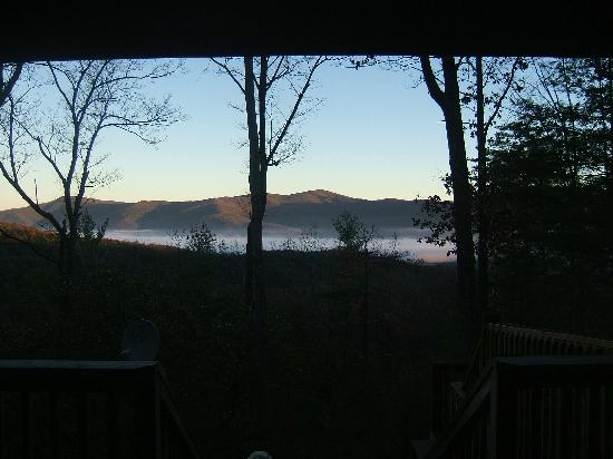 Wilderness View Cabins : View from the deck