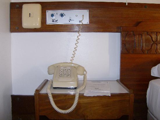 Hotel do Parque: lo storico telefono a tasti