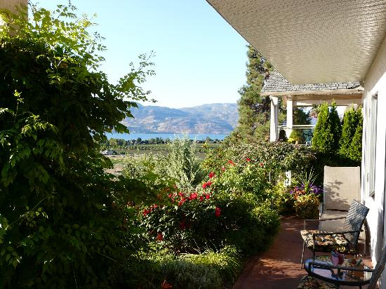 Apple Blossom Bed & Breakfast: Terrace