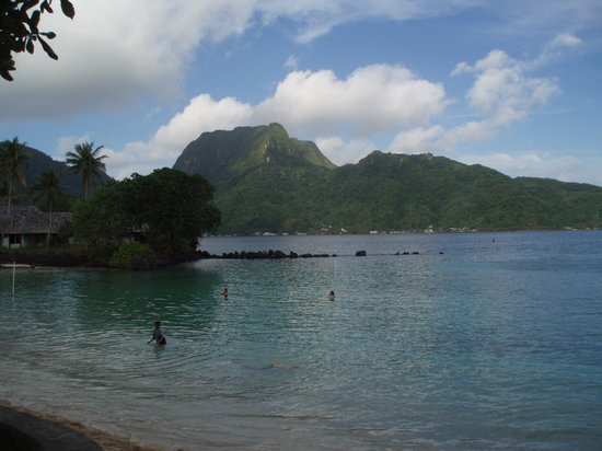 Pago Pago, American Samoa: View From the Pool