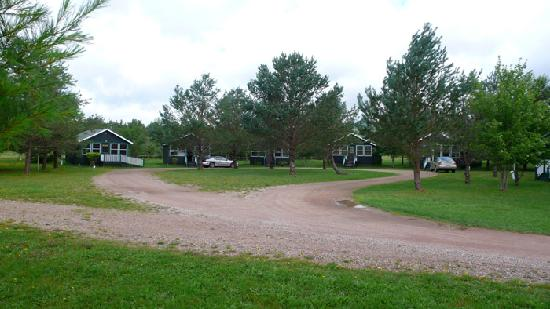The Normaway Inn & Cabins: a view of a cove of cabins