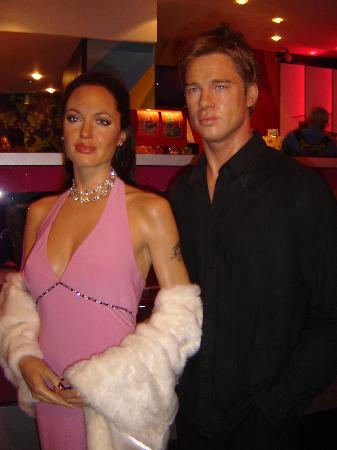 Madame Tussauds London: BRAD PITT AND ANGELINA JOLIE