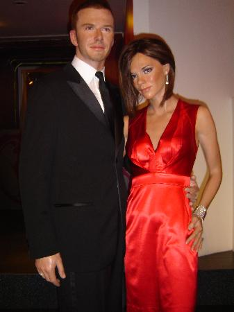Madame Tussauds London: DAVID AND VICTORIA BECKHAM