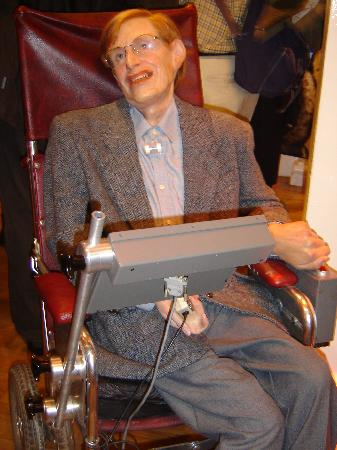 Madame Tussauds London: PROFFESOR STEPHEN HAWKING