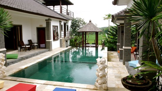 Balam Bali Villa: View from our room!