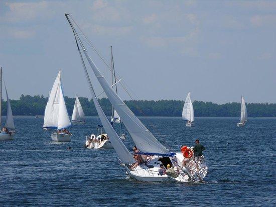 Podlaskie Province, Polonia: Yachts on Masurian Lakes