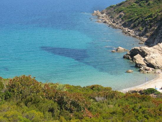 Скиатос, Греция: spiaggia di skiathos