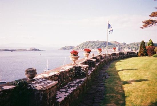 Dungallan Country House: Oban Bay from Dungallan Gardens