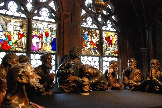 Freiburg Cathedral: The Last Supper
