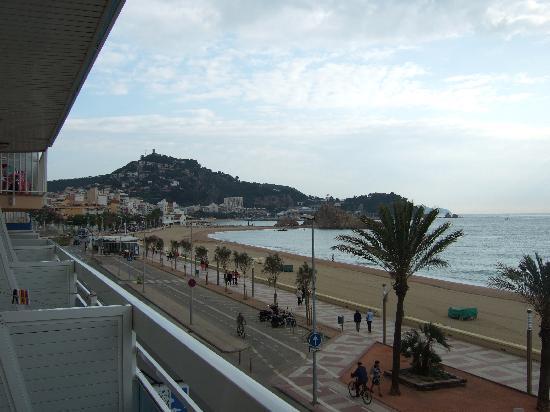 Hotel & Spa Pimar: vista dal balcone dell'hotel
