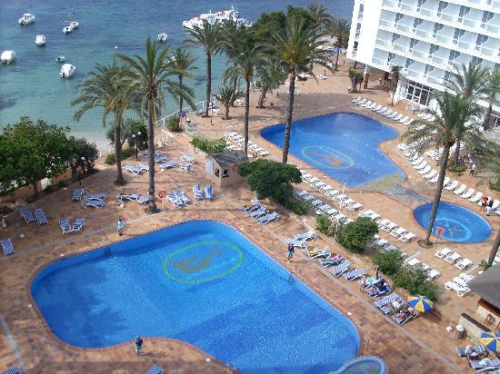 Sirenis Hotel Goleta & Spa: piscina hotel sirenis