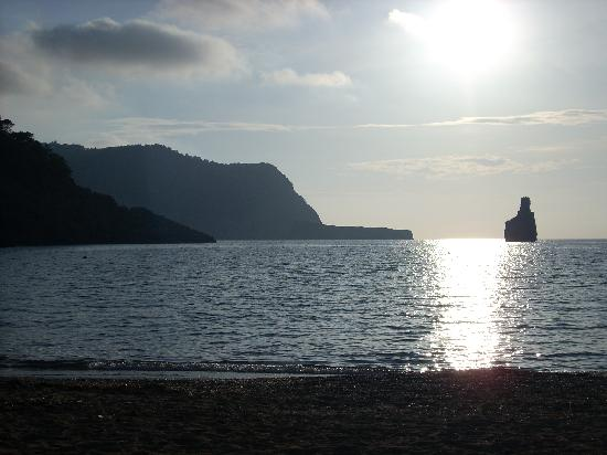 Sirenis Hotel Goleta & Spa: atardacer en la tamborrada