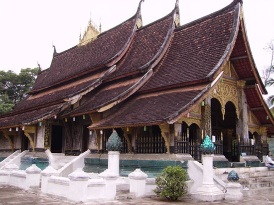 Luang Prabang, Laos: wat chiang thong