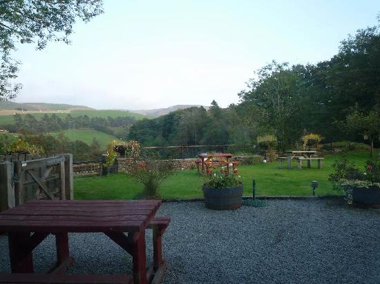 George Borrow Hotel: View from Dining/breakfast room