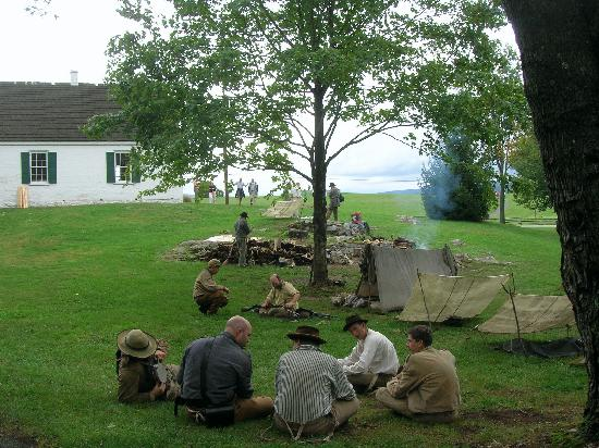 Jacob Rohrbach Inn: Encampment at Antietam Battlefield