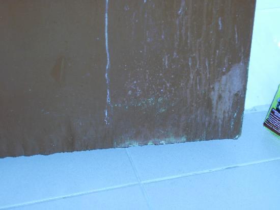 Hotel Kleopatra Blue Hawaii: toilet door