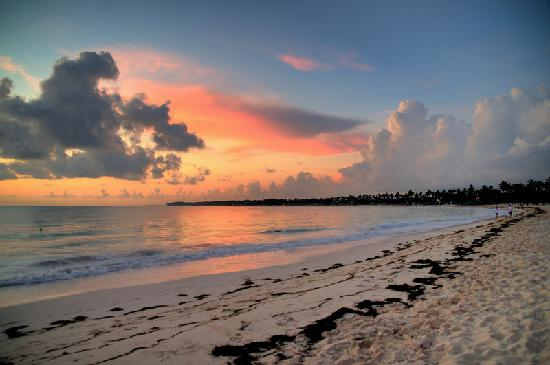 VIK Hotel Cayena Beach: Sunrise in Punta Cana