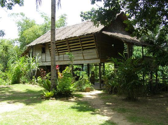 Kota Kinabalu, Maleisië: Monsopiad longhouse