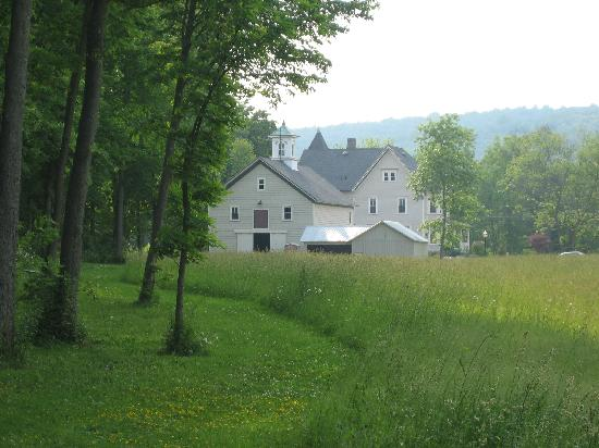 The Raritan Inn at Middle Valley: View from out back