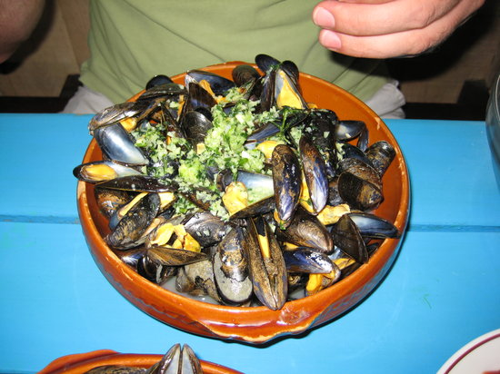Moliets et Maa, Frankrike: Moules Marinieres
