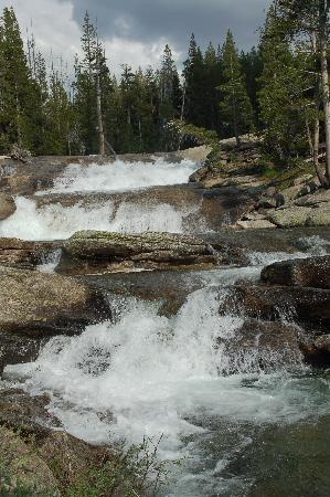 Tuolumne Meadows Lodge: Millers Cascade Tuolomne meadows