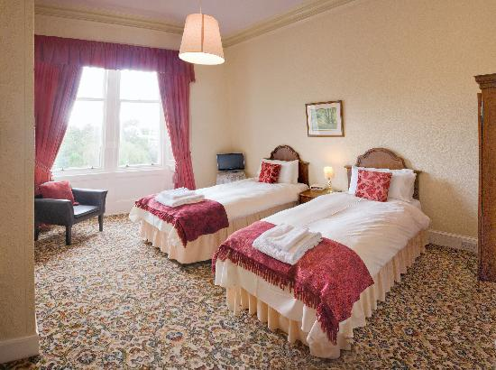 Hartfell House & The Limetree Restaurant: Twin Room with views