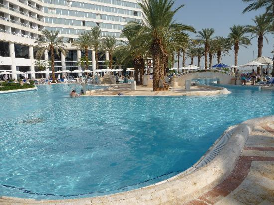 Swimming Pool Picture Of Crowne Plaza Dead Sea Ein Bokek Tripadvisor