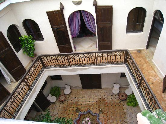 Riad Al Rimal: Le Riad côté suites