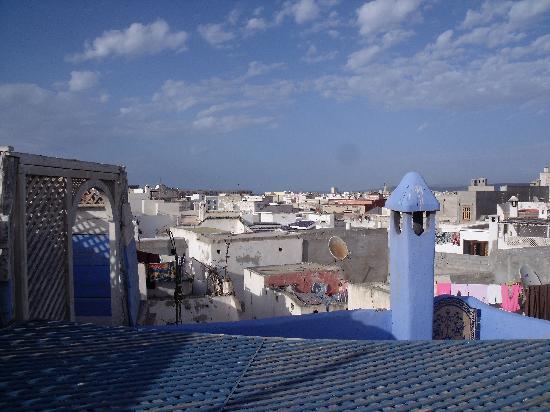 La Maison Du Vent : view from the terrace